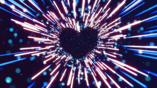 4K Valentine Heart Background