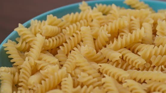Cover Image for Stack of fusilli in rotation