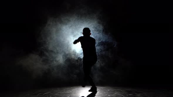 Thumbnail for Dancing Man Young Talented Street Dancer Breakdancing Performing Various Freestyle Dance Moves Fit