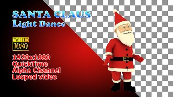 Cover Image for Christmas Santa Light Dancing