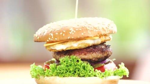 Beef Burger Cheese