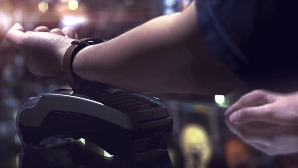 Thumbnail for Smartwatch Contactless Payment