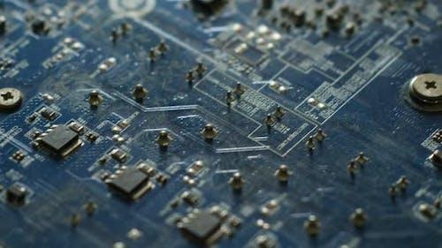 Elektronisch Chipsatz