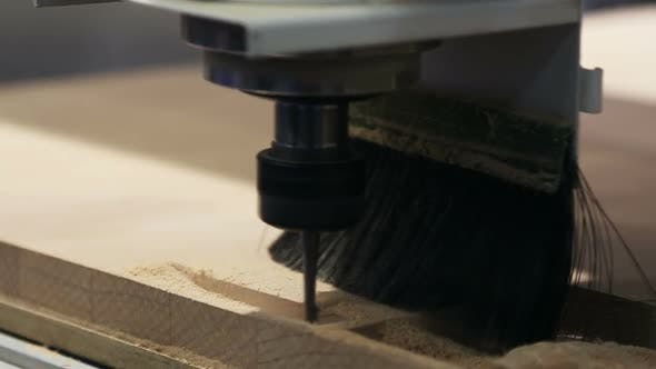 Thumbnail for Woodworking Machine with a Cutter Grinds
