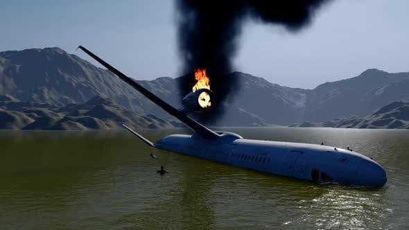 Thumbnail for Passenger Plane Crashing and Rescuing People