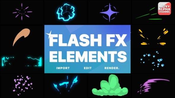 Éléments Flash FX   Graphiques animés