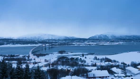 Thumbnail for Tromso Winter Skyline