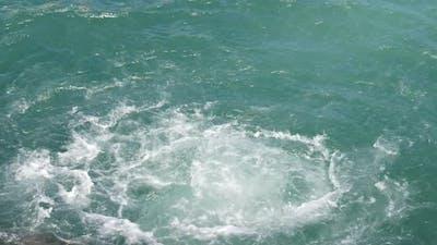 Swirl in the sea