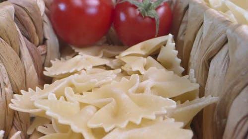 Fresh Vegetarian Italian Raw Food Macaroni Pasta 02