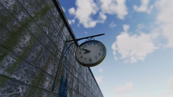 Thumbnail for Street Clock Timelapse