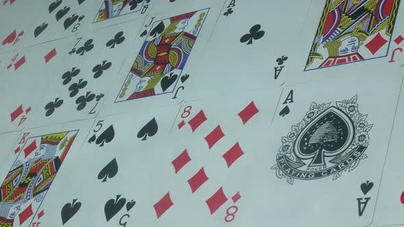 Thumbnail for Beautiful Poker Cards on the Table
