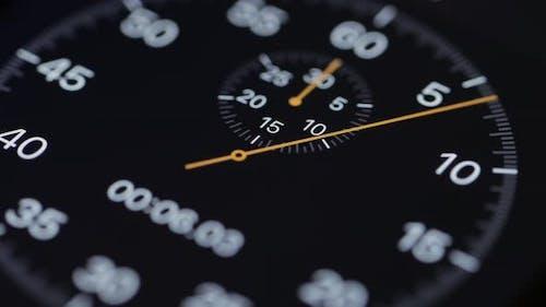 Numerical digital stopwatch