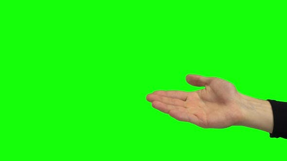 Thumbnail for Guy Hand Calling Someone By Palm