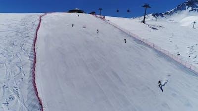 Ski Resort Skiing