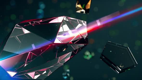Colorful Cleancut Diamonds Floating 4