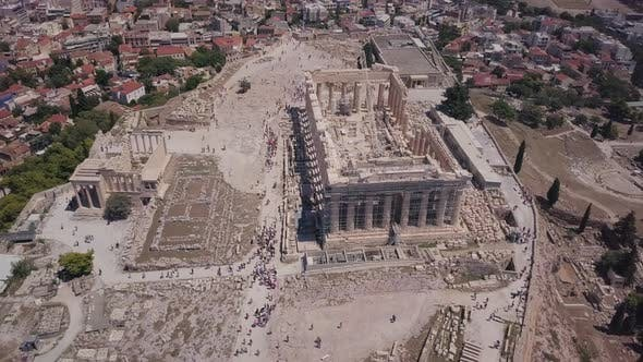 Thumbnail for Travel View of Acropolis in Athens
