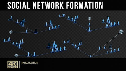 Social Network Formation With Alpha Channel