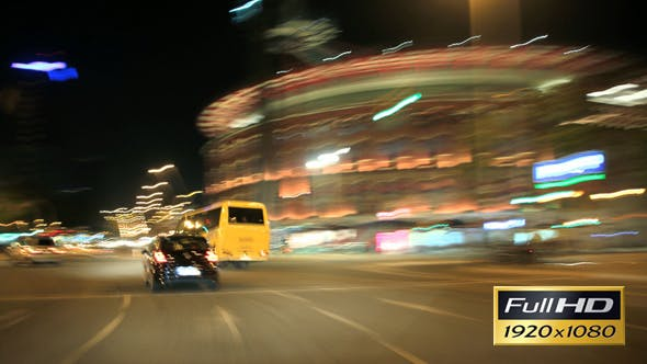 Thumbnail for Barcelona Night City Drive Cameracar 4