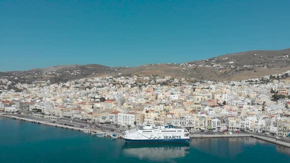Thumbnail for Aerial View of Ermoupoli