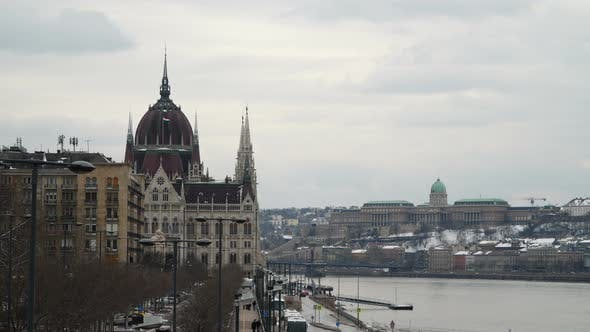 Thumbnail for The Danube Embankment Near the Parliament Building
