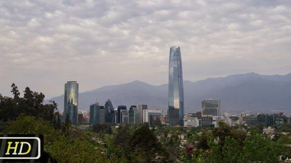 Thumbnail for Santiago De Chile Skyline