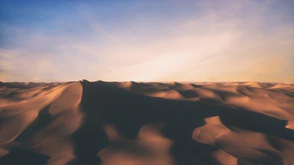 Endless Flight in the Endless Hot Desert