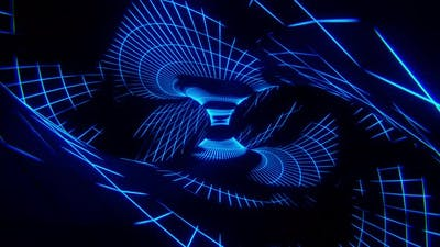 Spiral Bending Psychedelic Loop