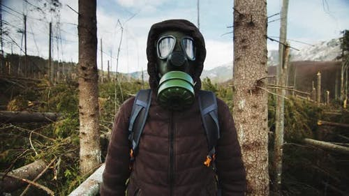 Virus World Calamity Natural Forest Disaster