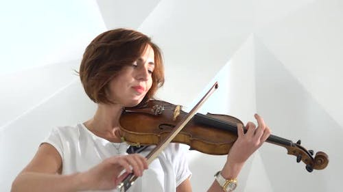 Girls Play the Violin Lyric Composition