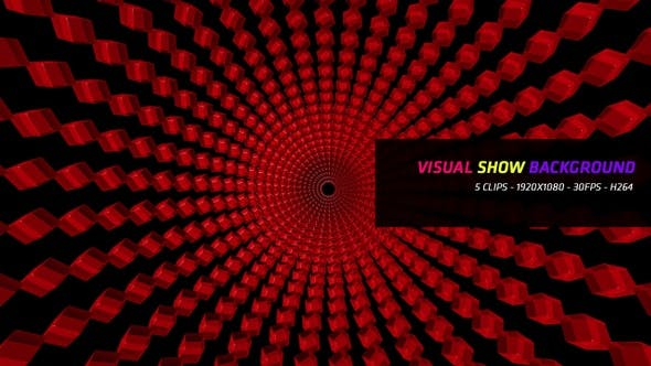 Visual Show Background 5 in 1