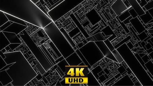 Black Square Dedication To Malevich 4K