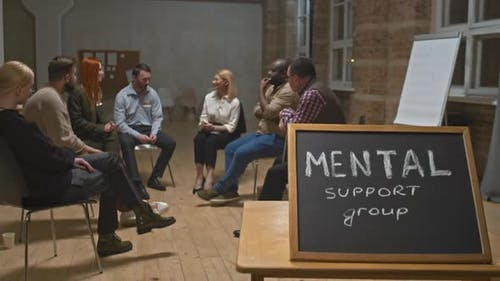 Mental Support Group Meeting