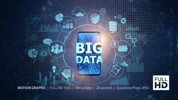 Cover Image for Big Data On Mobile Phone - Center (FULL HD)