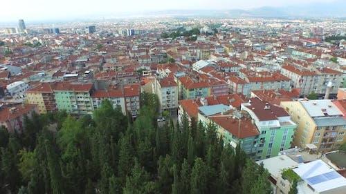 Aerial View of Bursa City