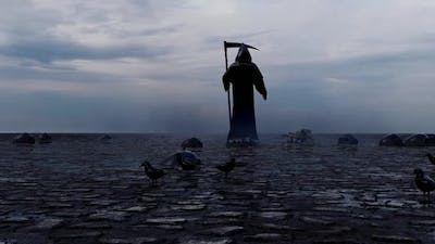 The Grim Reaper and Approaching Death