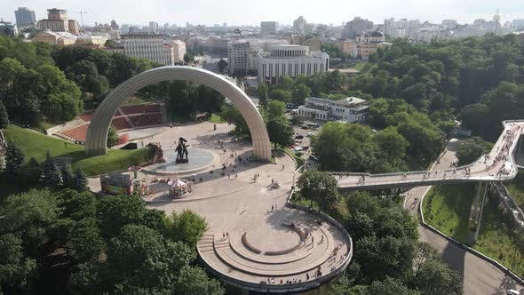Thumbnail for View of Kyiv From Above. Ukraine. Aerial View