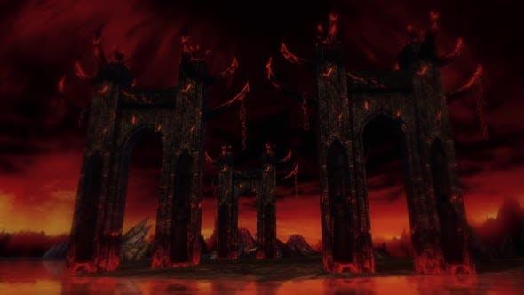 Halloween Hell Entrance