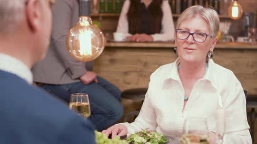 Old Woman Gets Very Emotional When Her Partner Offers Her a Engagement Ring
