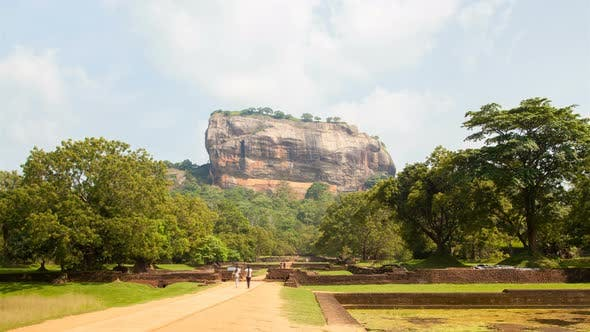 Thumbnail for Tourist Road To Sigiriya Lion Rock , Sri Lanka