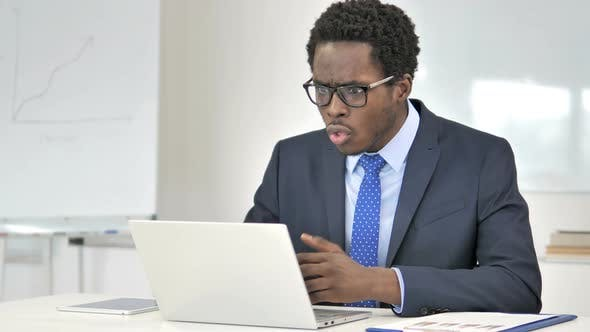 African Businessman in Shock By Results