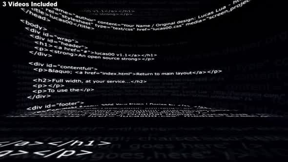 Thumbnail for Html Code Room Background Package
