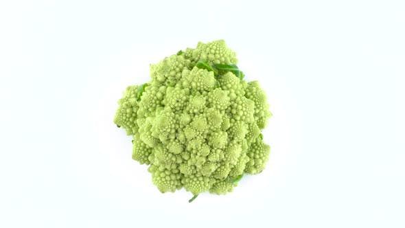 Thumbnail for romanesco broccoli flower