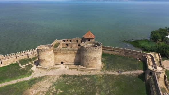 Thumbnail for Akkerman Fortress in Ukraine Aerial Panorama View
