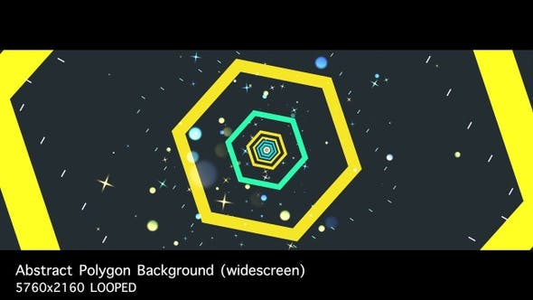 Thumbnail for Abstract Polygon Background (widescreen)