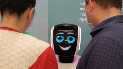 People Communicate with the Robot Modern Technologies
