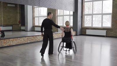 Spectacular Couple of Ballroom Dancers
