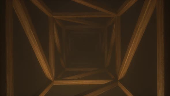 Thumbnail for Square wooden endless tunnel
