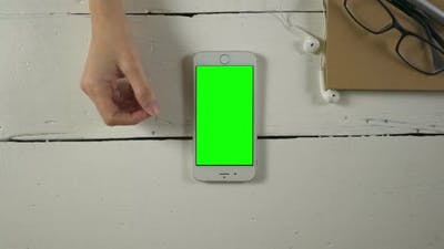 Smartphone Green Screen