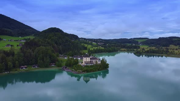 Thumbnail for Amazing View of Lake Fuschl in Austria