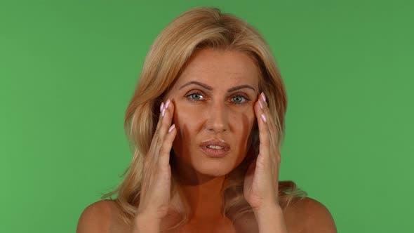 Thumbnail for Beautiful Mature Woman Having Headache
